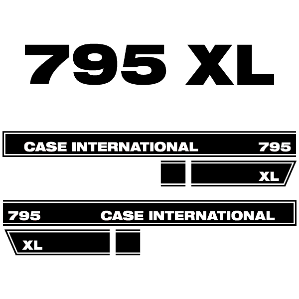 Case International 795 XL