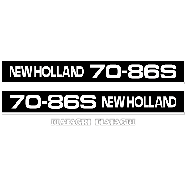 New Holland 70-86 S